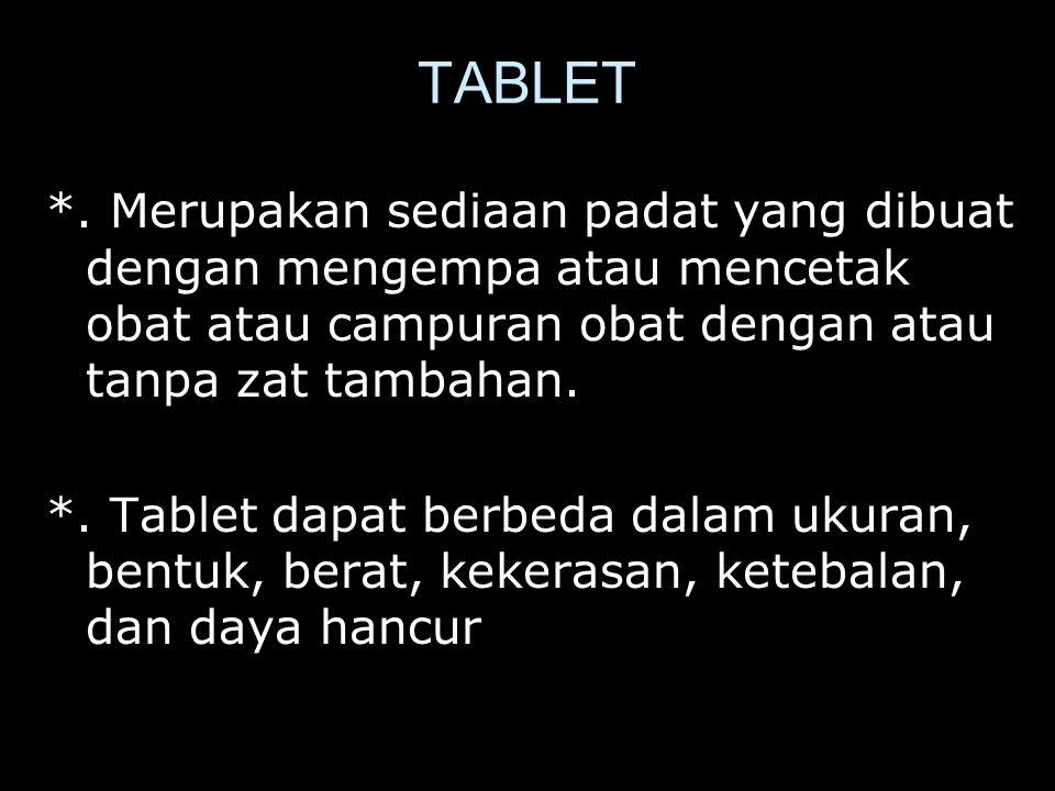 TABLET *.