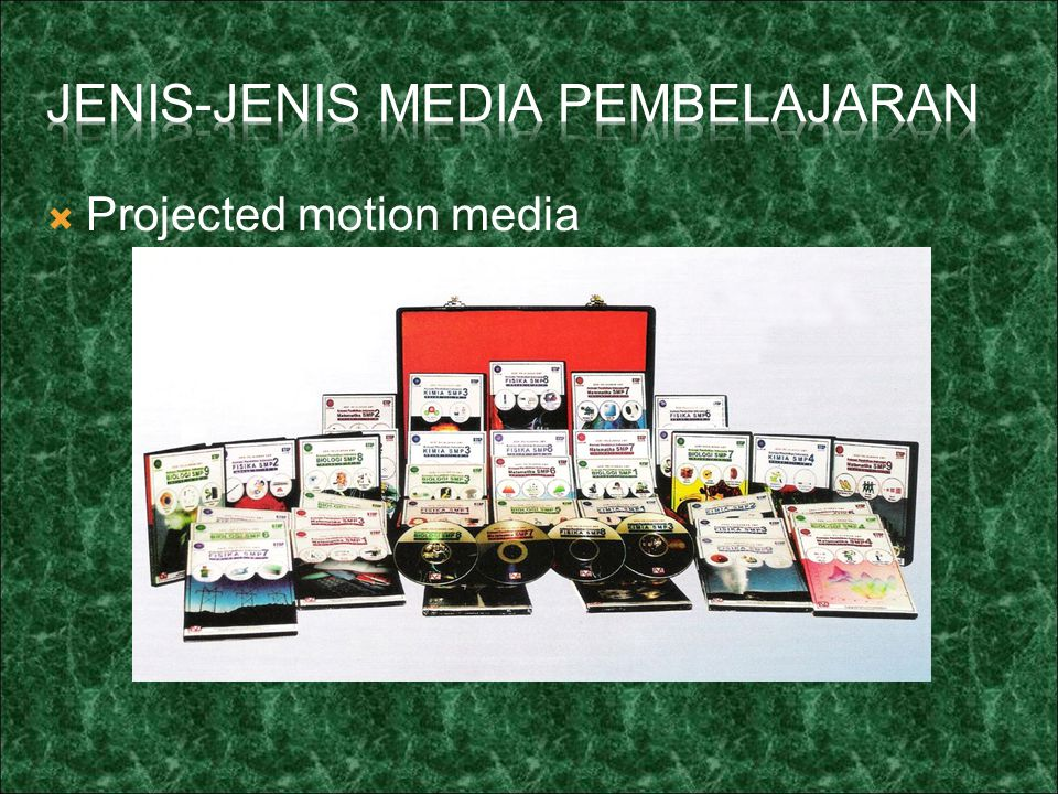  Projected motion media