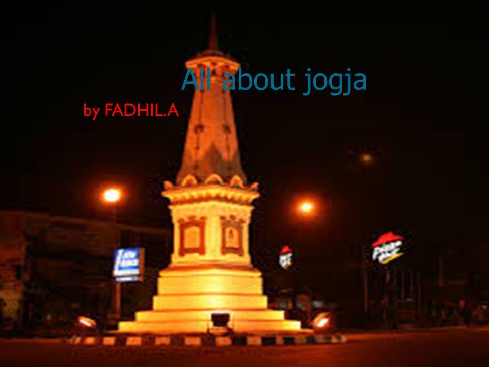 Jogja merupakan provinsi terkecil ke 2 Daerah Istimewa Yogyakarta (DIY) merupakan propinsi terkecil kedua, setelah propinsi DKI Jakarta dan terletak di tengah pulau Jawa, dikelilingi oleh propinsi Jawa.
