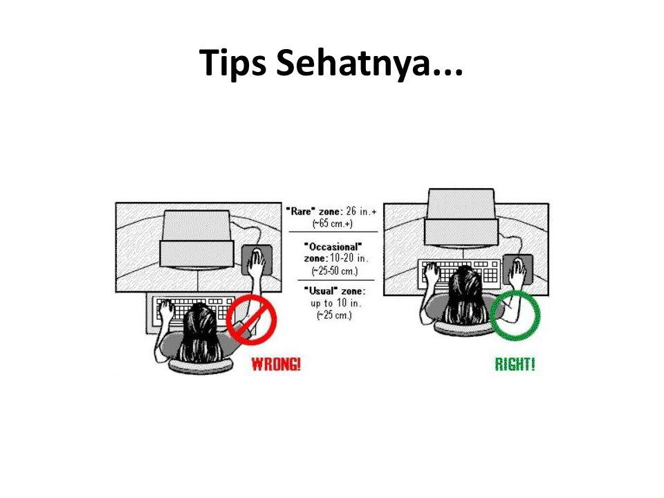 Tips Sehatnya...