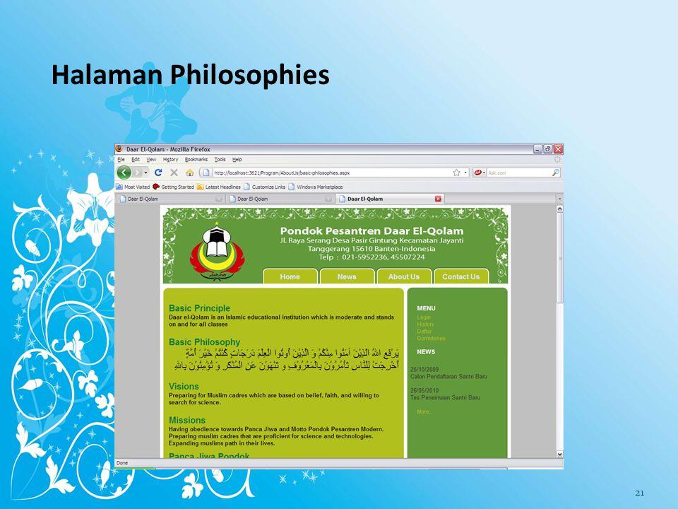 Halaman Brief History (Drs. K. H. Ahmad Rifai Arief) 20