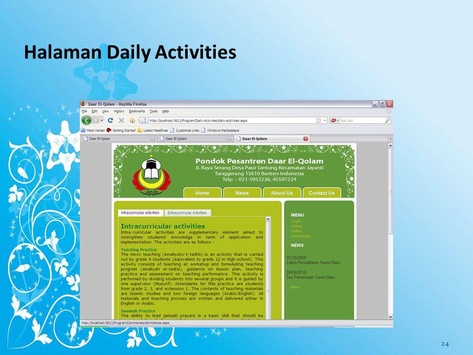 Halaman Academic System 23
