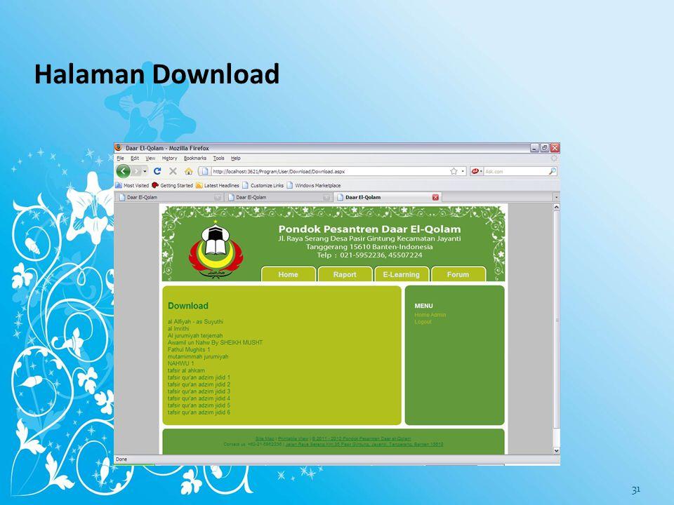 Halaman Download 30
