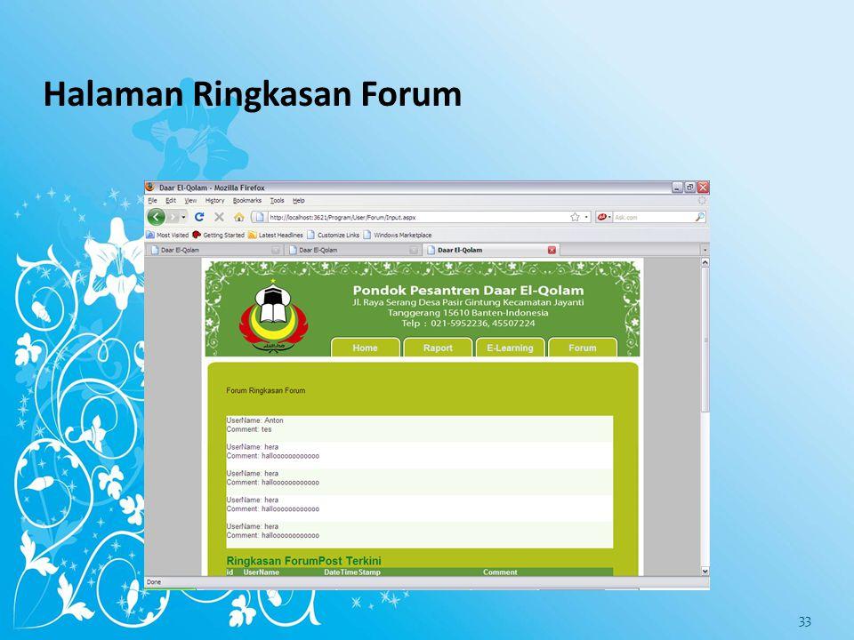 Halaman Forum 32