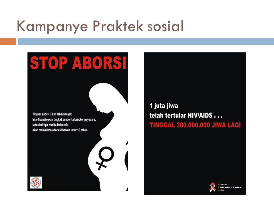 Kampanye Praktek sosial