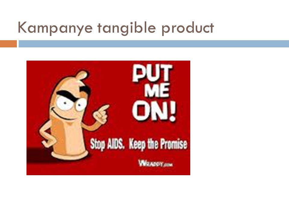 Kampanye tangible product