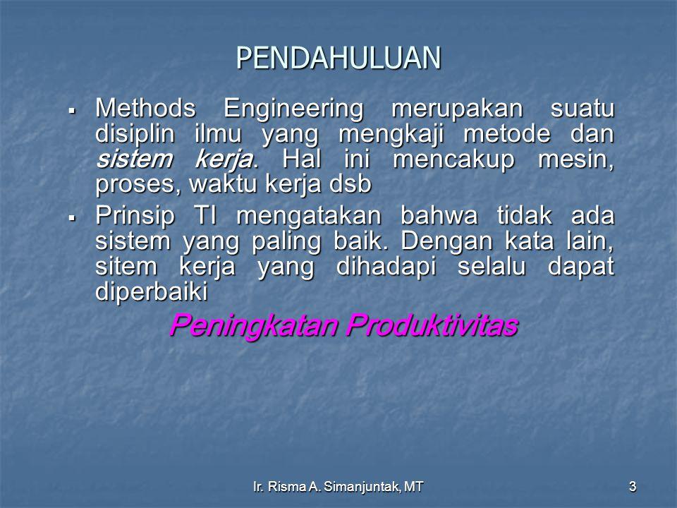 Ir. Risma A. Simanjuntak, MT14 GOD BLESS US