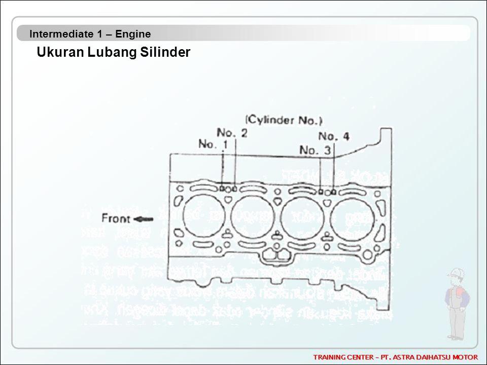 Intermediate 1 – Engine Ukuran Lubang Silinder