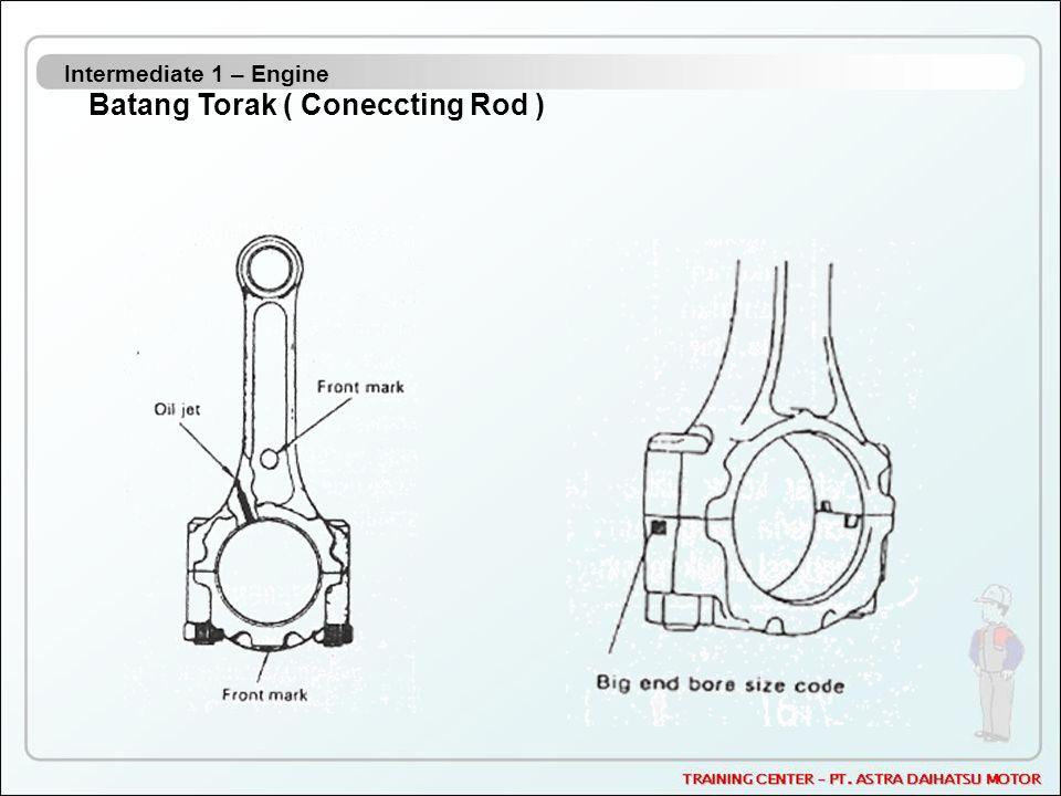 Intermediate 1 – Engine Batang Torak ( Coneccting Rod )