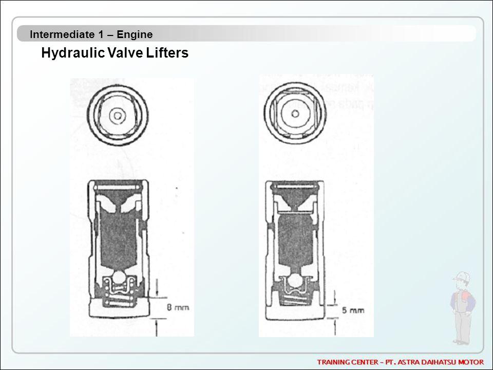 Intermediate 1 – Engine Hydraulic Valve Lifters