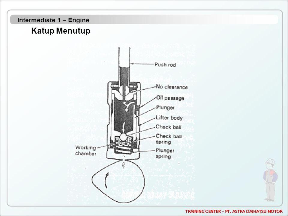 Intermediate 1 – Engine Katup Menutup