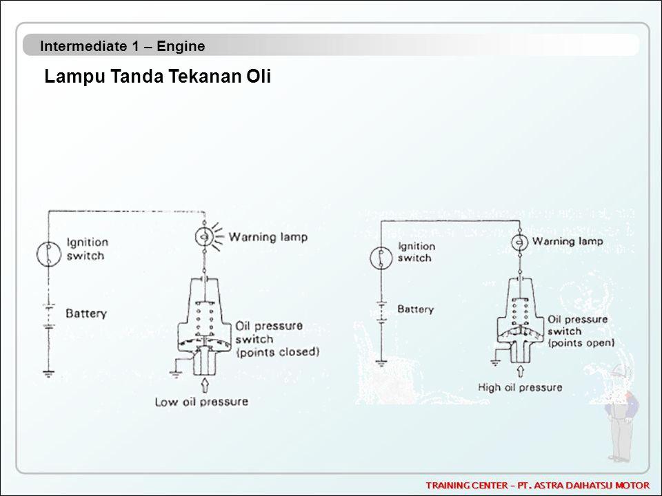 Intermediate 1 – Engine Lampu Tanda Tekanan Oli