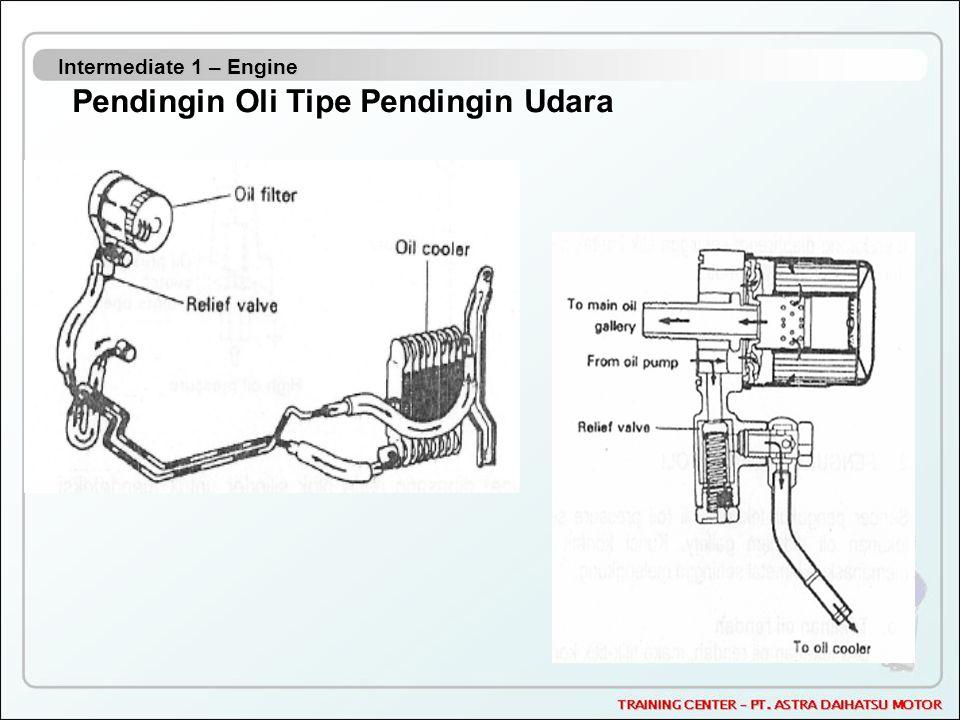 Intermediate 1 – Engine Pendingin Oli Tipe Pendingin Udara