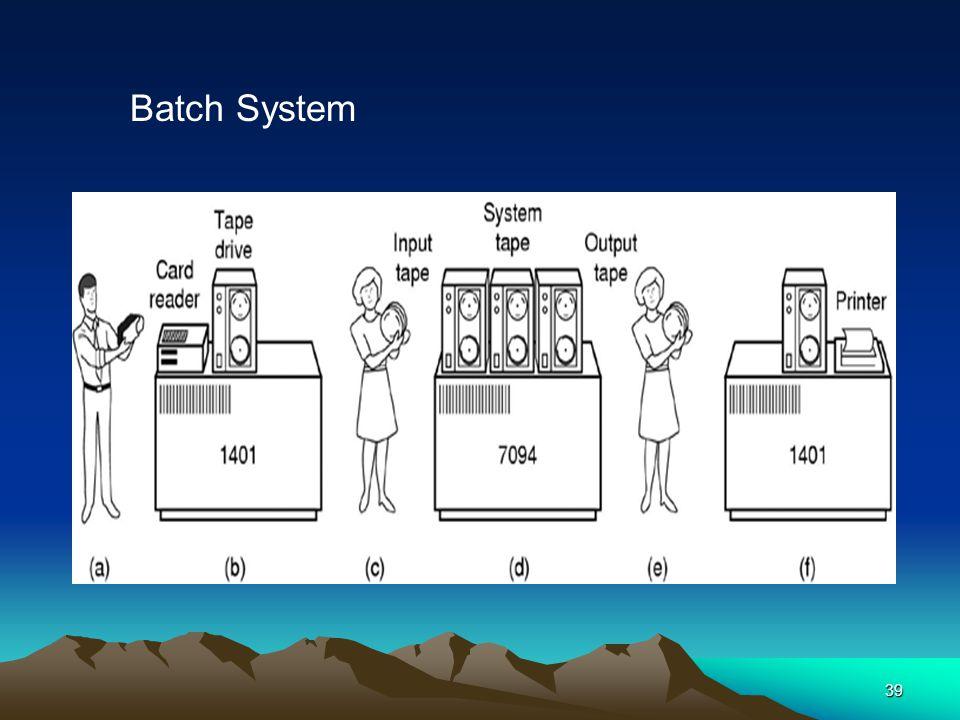 39 Batch System