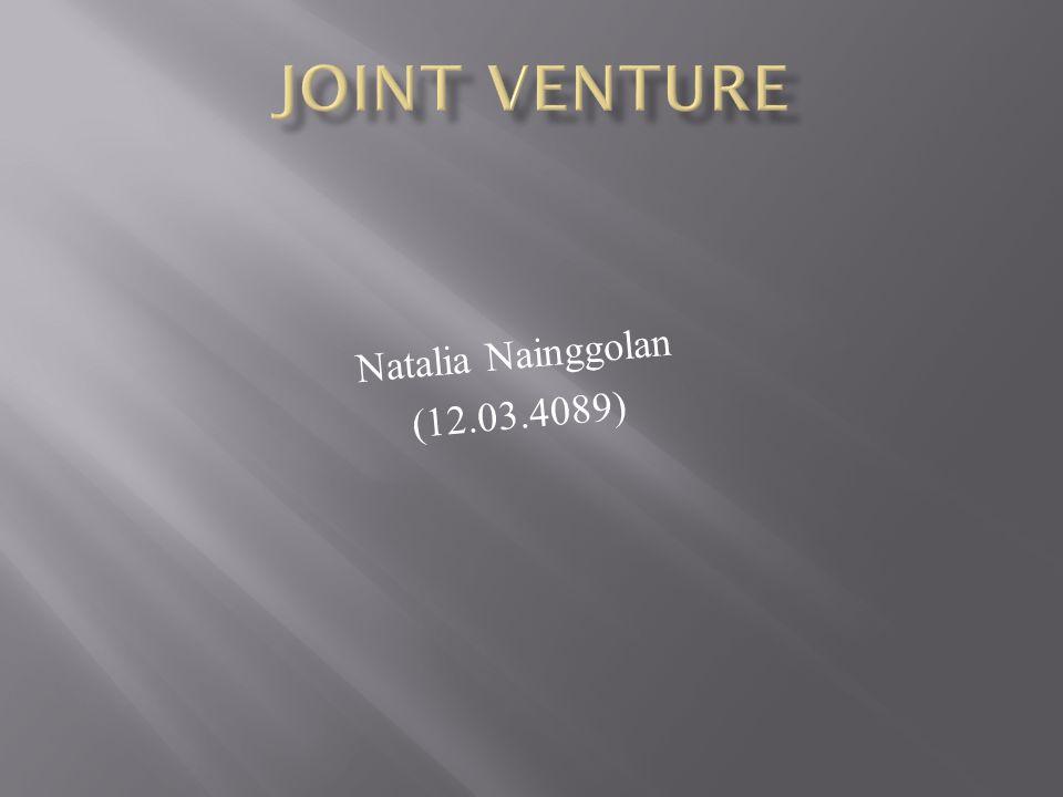 1.Single venture adalah pengusahaan suatu proyek tertentu yang dilakukan oleh satuunit tertentu.