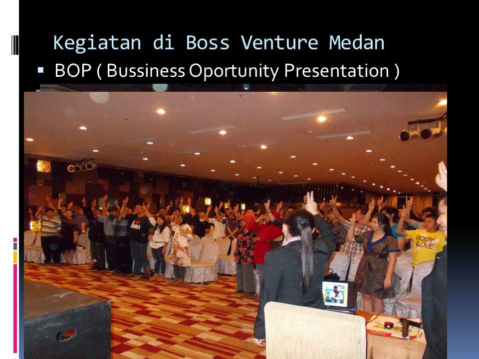 Bapak. Yudianto Tri  Managing Director PT. Boss Venture Indonesia  Wakil Ketua KADIN DKI Jakarta Bidang Informatika dan Pariwisata  Dewan Kehormata