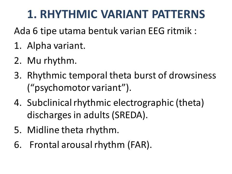 1.1.Alpha Variant Ada 2 jenis varian alpha :.