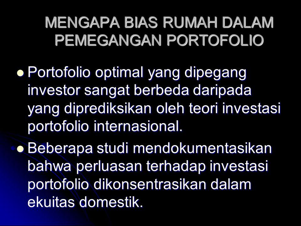 REKSADANA INTERNASIONAL: EVALUASI KINERJA (3) Keunggulan reksadana internasional ini akan menarik secara nyata bagi para investor kecil yang menginginkan untuk mendiversifikasi secara internasional.