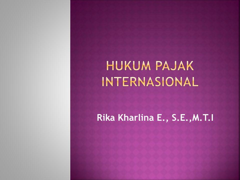 Rika Kharlina E., S.E.,M.T.I