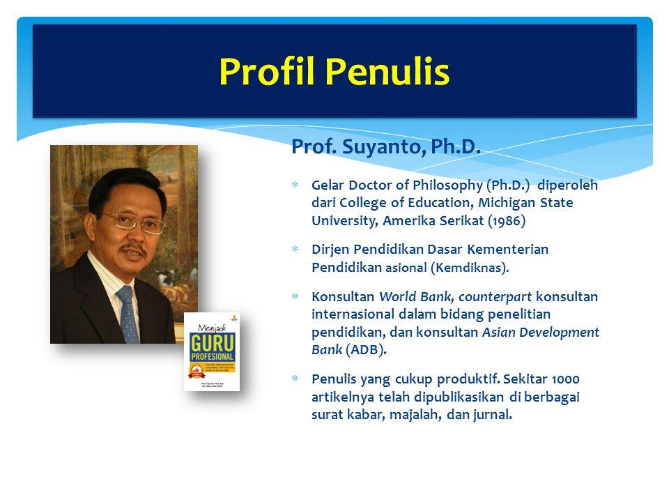 Prof.Suyanto, Ph.D.