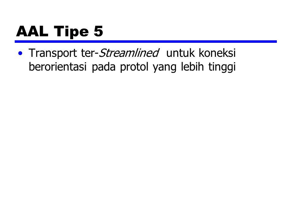 AAL Tipe 5 Transport ter-Streamlined untuk koneksi berorientasi pada protol yang lebih tinggi