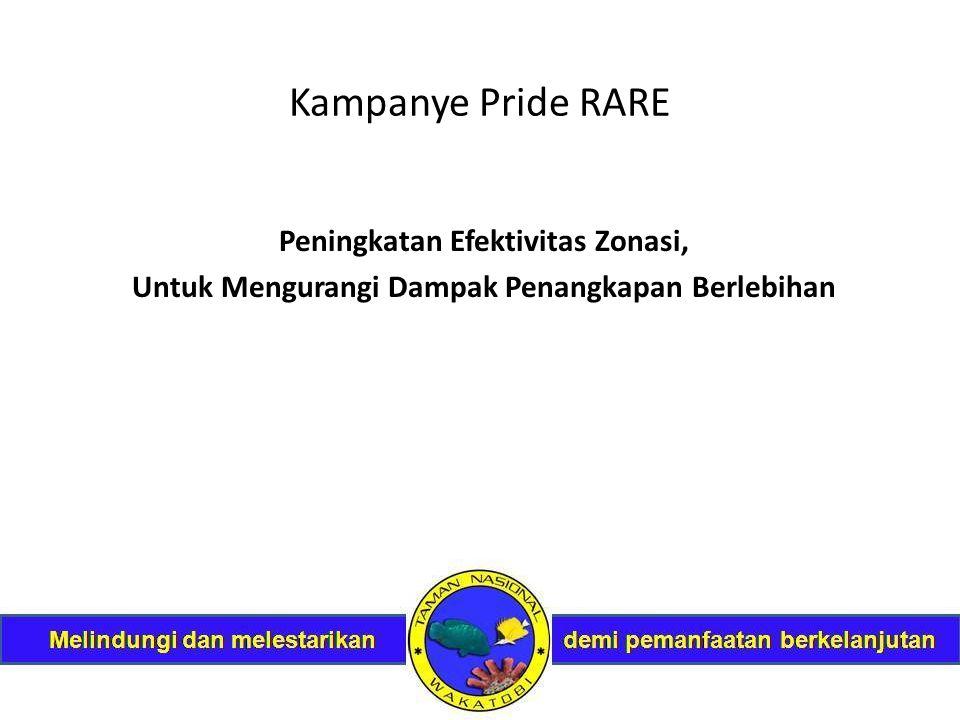 Kampanye Pride RARE Peningkatan Efektivitas Zonasi, Untuk Mengurangi Dampak Penangkapan Berlebihan