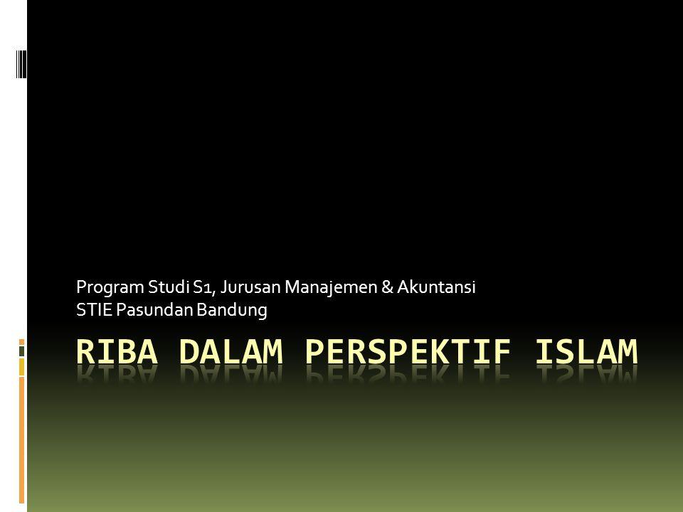 Program Studi S1, Jurusan Manajemen & Akuntansi STIE Pasundan Bandung