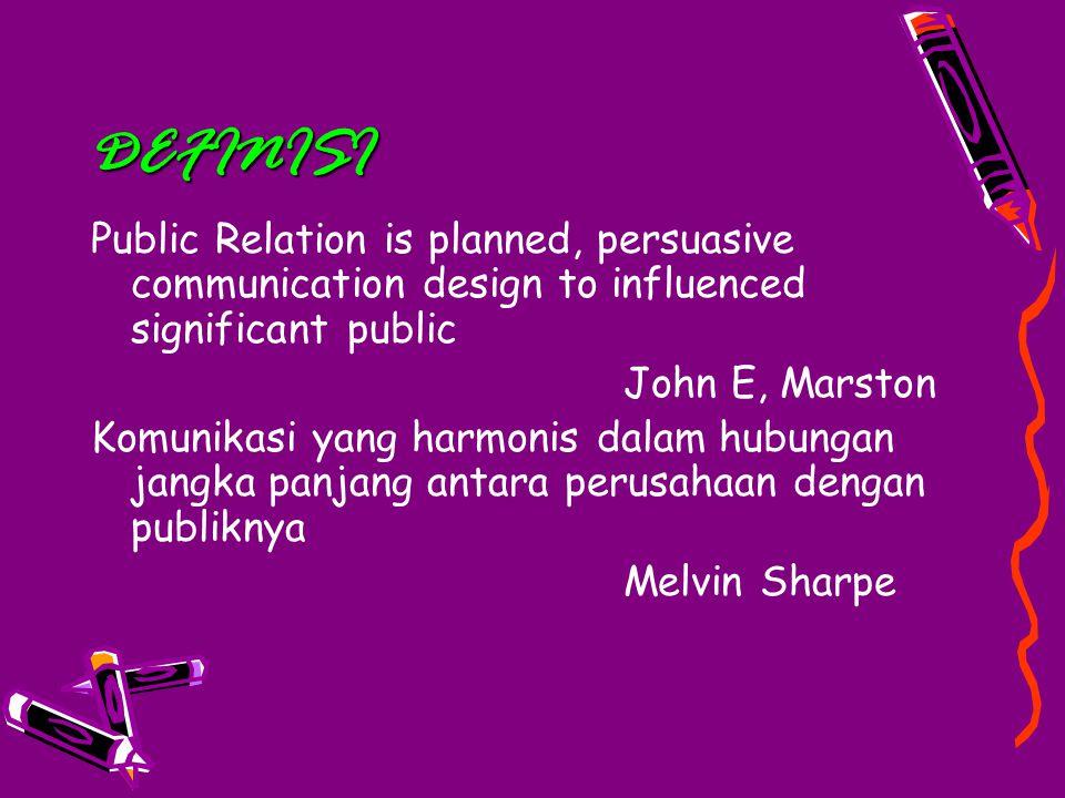 Prinsip untuk menjalankan hubungan harmonis Komunikasi yang jujur untuk memeroleh kredibilitas.