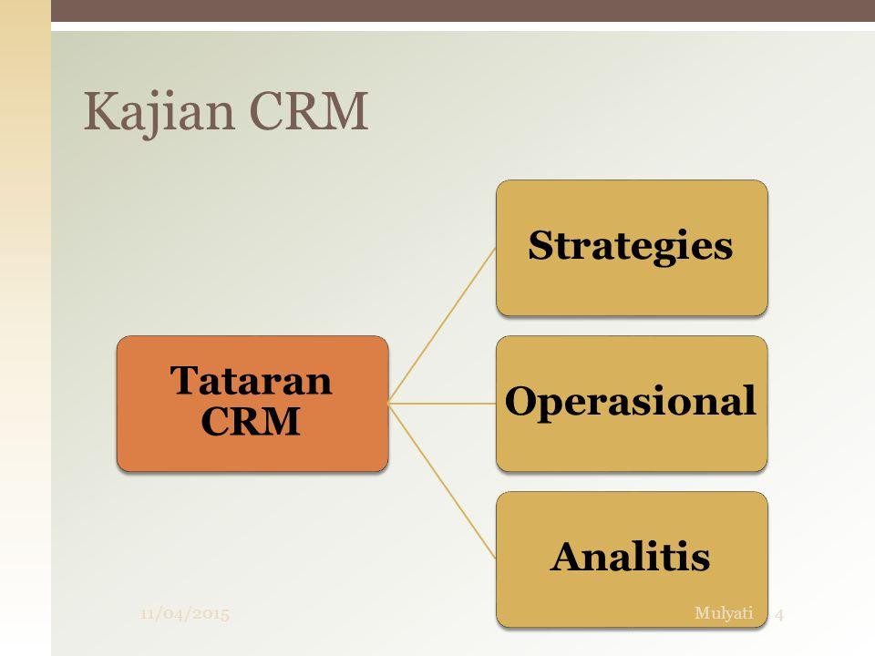Manajemen Hubungan Pelanggan (CRM)  Dengan cara ini CRM membantu perusahaan memahami, sebagaimana mengantisipasi kebutuhan pelanggan saat ini dan pelanggan potensial.