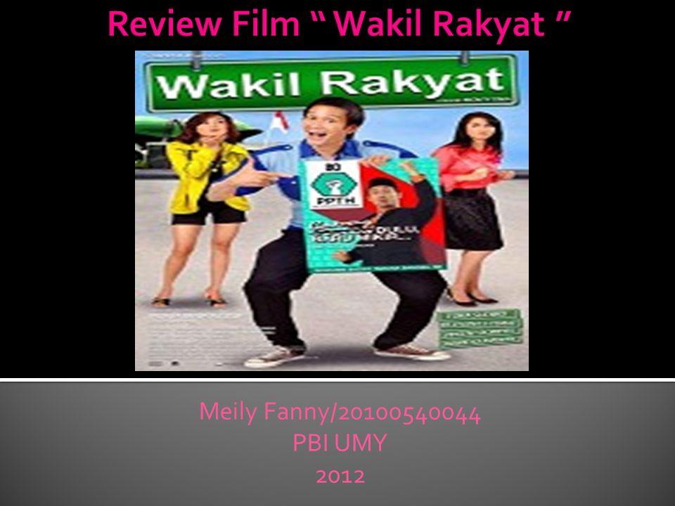 Meskipun mengambil tema politk, film ini tidak menampilkan alur cerita yang kaku.