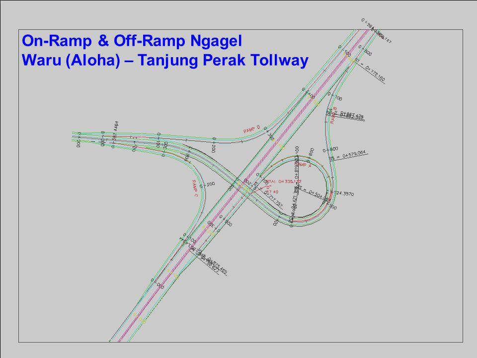 On-Ramp & Off-Ramp Ngagel Waru (Aloha) – Tanjung Perak Tollway