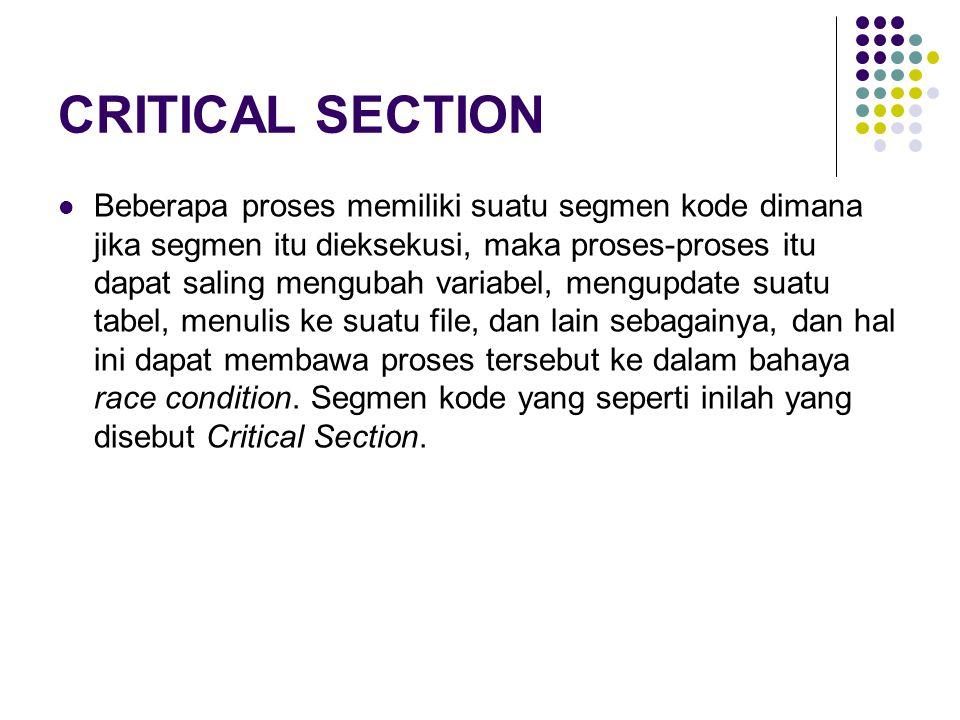 9 Overview (1) Proteksi OS: Independent process tidak terpengaruh atau dapat mempengaruhi eksekusi/data proses lain.