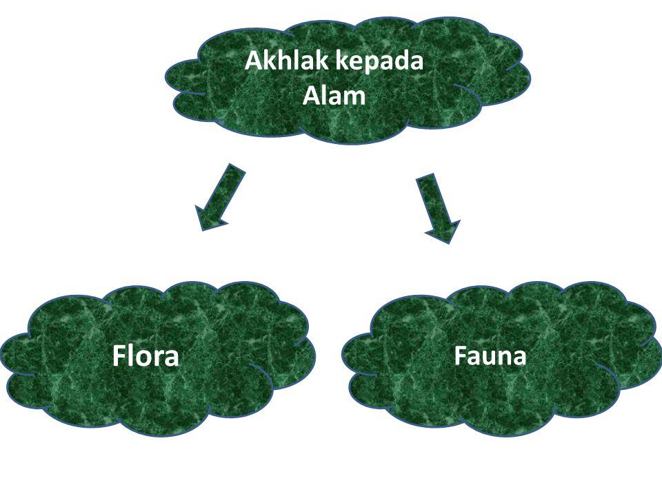 Akhlak kepada Alam Flora Fauna