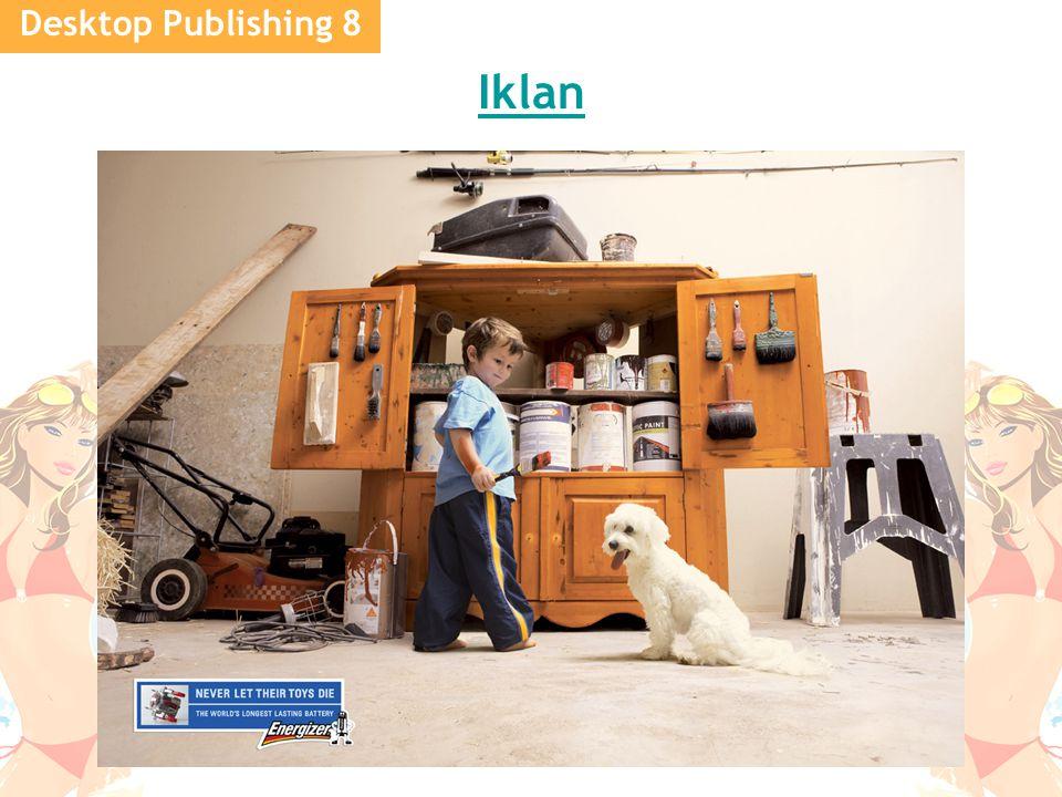 Desktop Publishing 8 Iklan