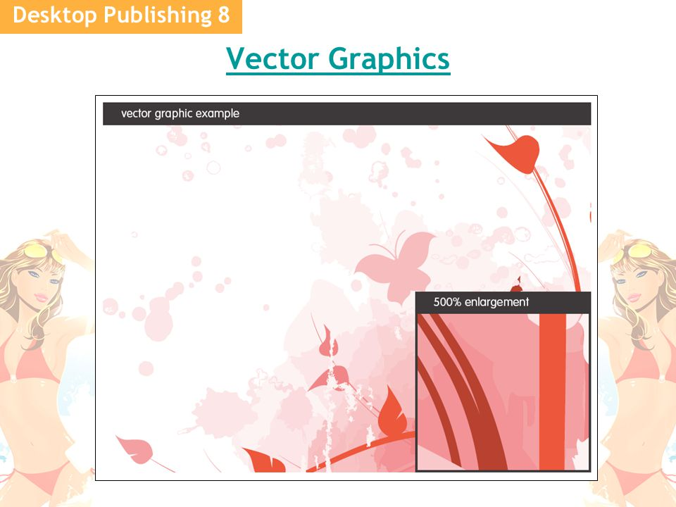 Desktop Publishing 8 Vector Graphics