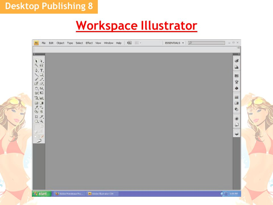 Desktop Publishing 8 Workspace Illustrator