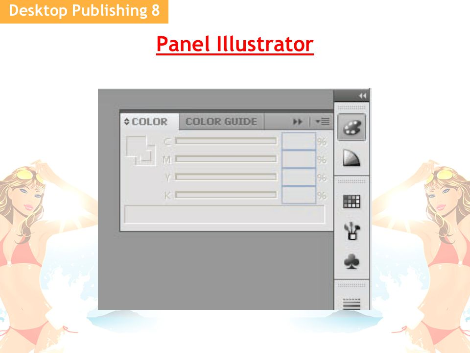 Desktop Publishing 8 Panel Illustrator