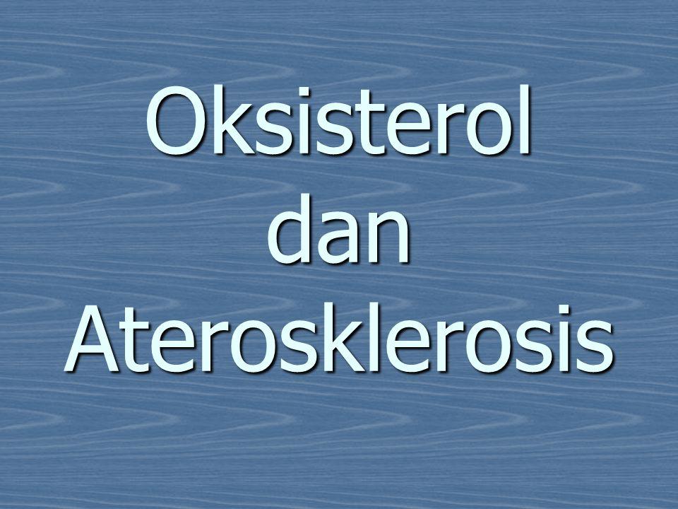 Oksisterol dan Aterosklerosis