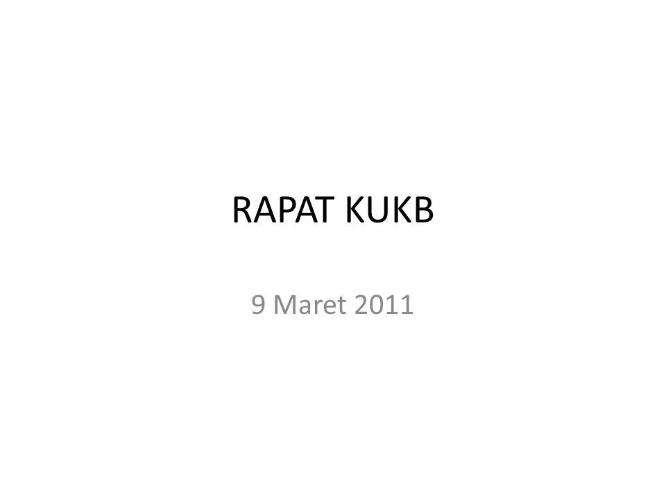 RAPAT KUKB 9 Maret 2011