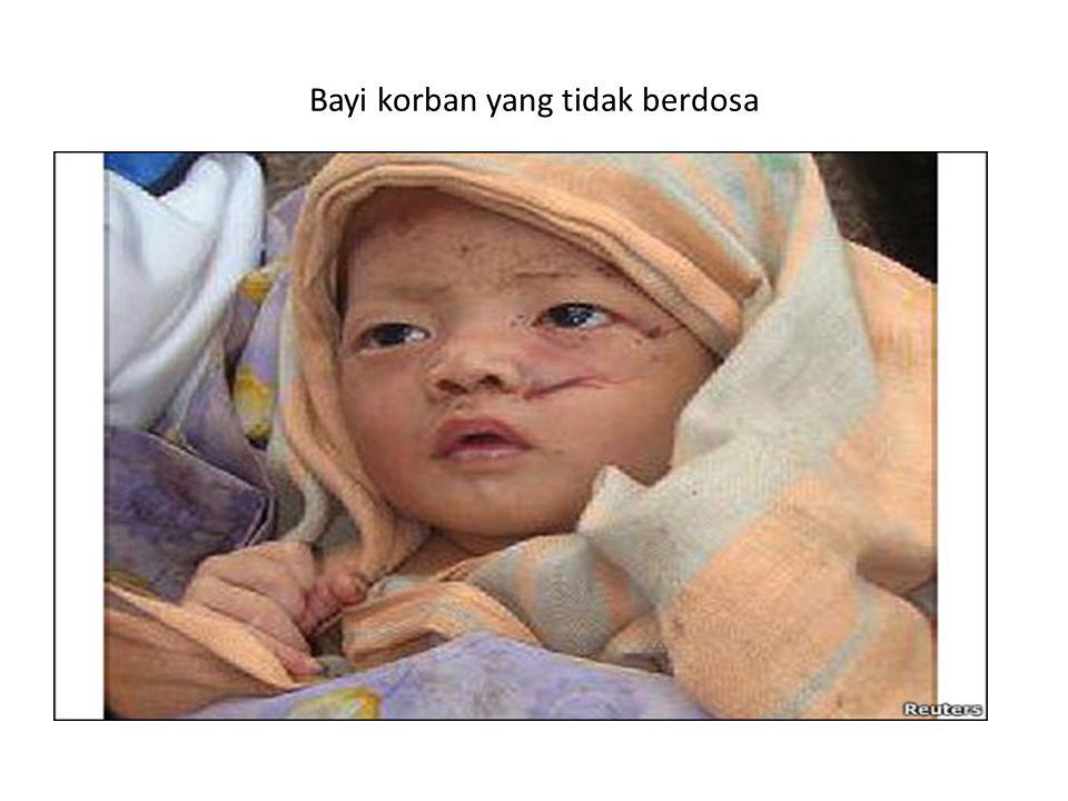 Bayi korban yang tidak berdosa