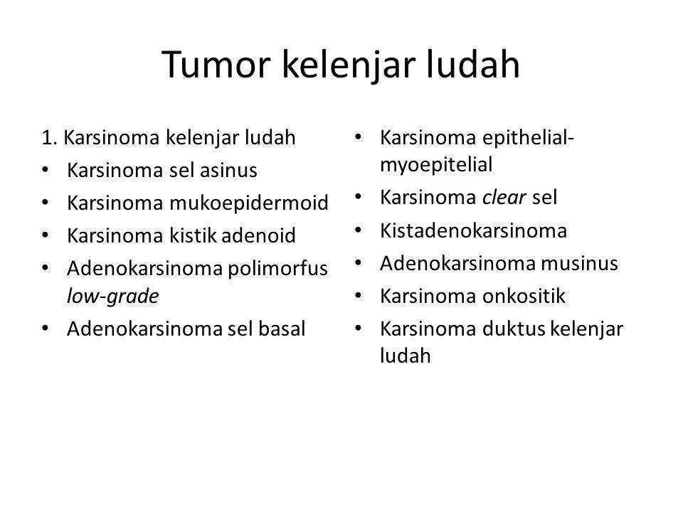 Tumor kelenjar ludah 1.