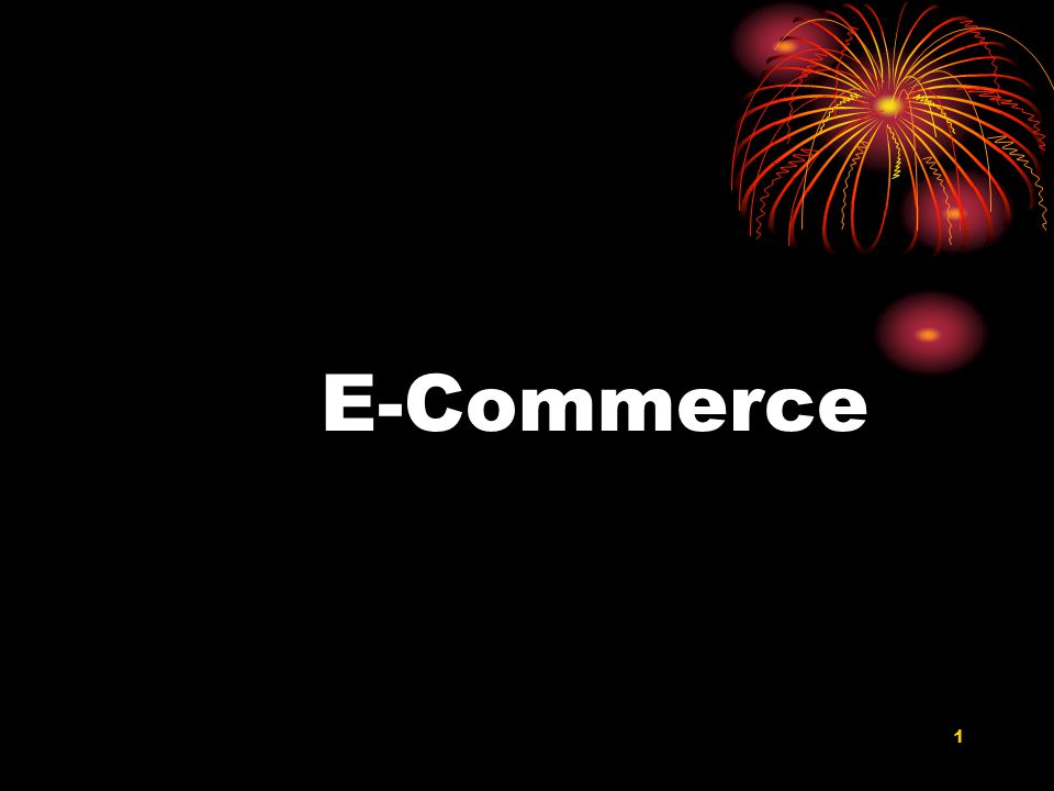 1 E-Commerce