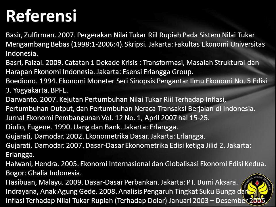 Referensi Basir, Zulfirman.2007.