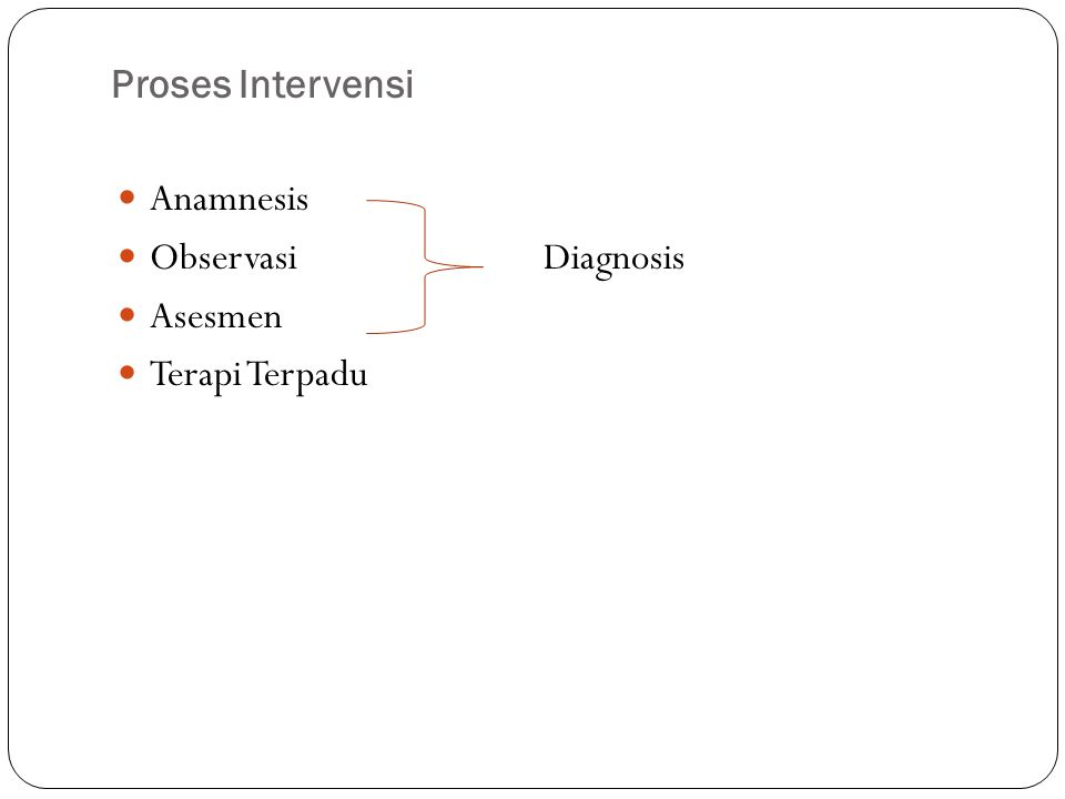 Tahapan terapi terpadu : V.Academic/skill IV. Pre-academic III.