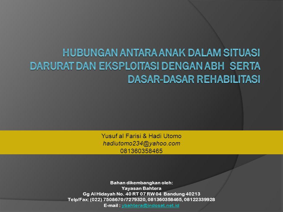 Bahan dikembangkan oleh: Yayasan Bahtera Gg Al Hidayah No.