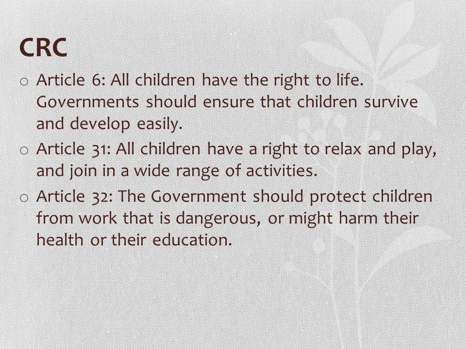 UUPA o Article 13 (Part B): Eksploitasi, baik ekonomi maupun seksual o Article 66: (1) Perlindungan khusus bagi anak yang dieksploitasi secara ekonomi dan/atau seksual sebagaimana dimaksud dalam Pasal 59 merupakan kewajiban dan tanggung jawab pemerintah dan masyarakat.