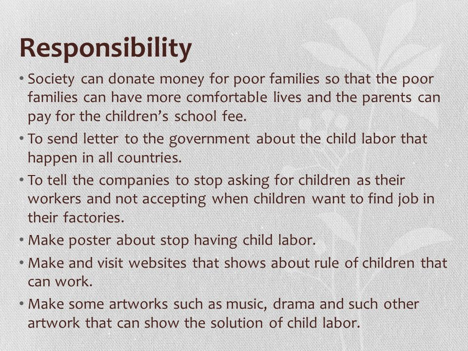 Related to CRC The CRC Article Related to the Issue The Ideal ApplicationResponsibilities -Article 6: All children have the right to life.