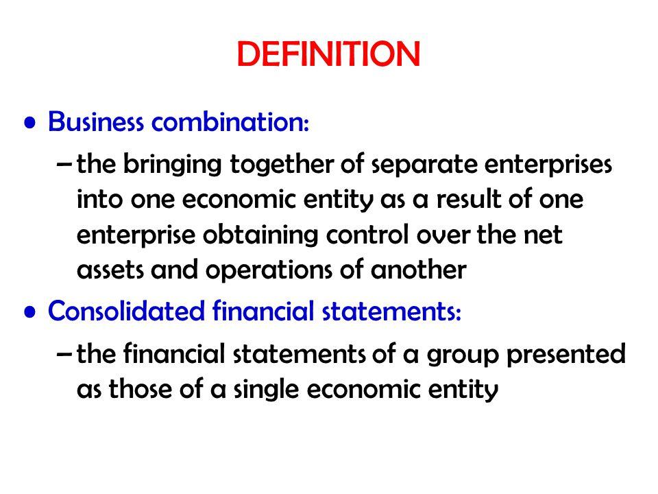 DEFINISI Joint venture: perjanjian kontraktual antara dua atau lebih pihak untuk melaksanakan kegiatan ekonomi yang dikendalikan bersama Ciri-ciri utama dari suatu joint venture: –Dua atau lebih venturer diikat oleh suatu perjanjian kontraktual –Perjanjian kontraktual tersebut menciptakan pengendalian bersama