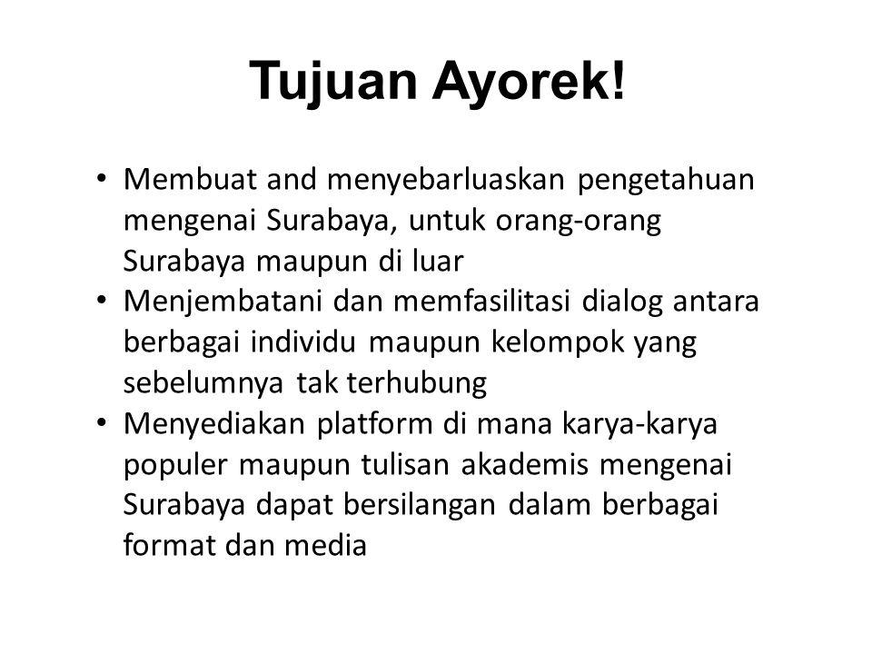 Tujuan Ayorek.