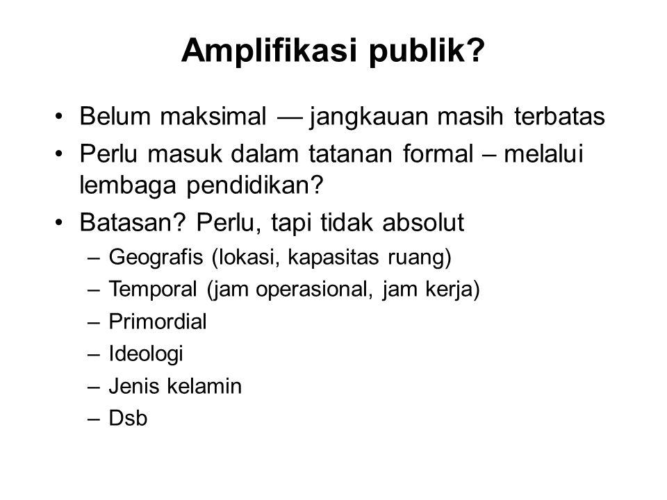 Amplifikasi publik.
